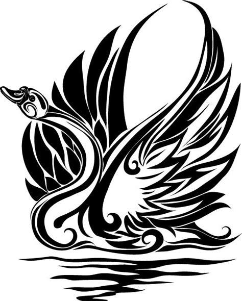 tribal swan tattoo designs tribal swan tattoos www pixshark images galleries