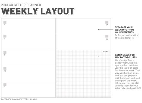 Weekly Goals Template Bing Images Goal Planner Template