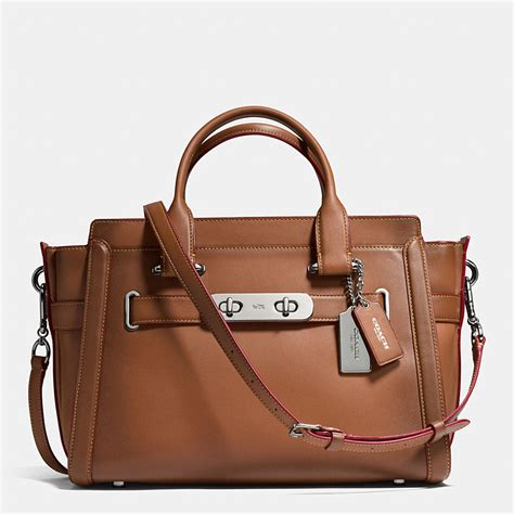 Coach And Their Coach Handbags by Coach Designer Handbags Coach Swagger In Burnished