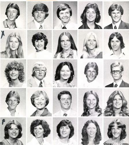 hairstyles for yearbook hairdos 1979 monterey high school lubbock texas