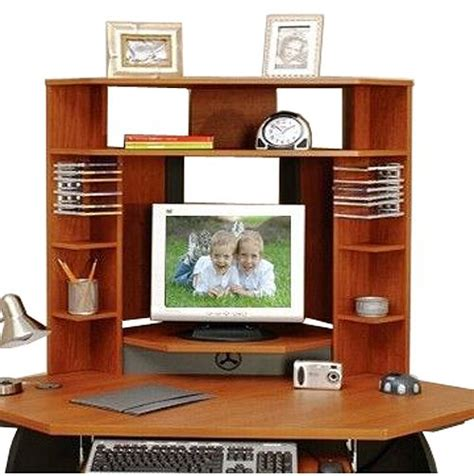 O Sullivan Corner Desk O Sullivan 11297 Metro Cherry Slate Gray Hutch Apex Collection Corner Hutch 11297 Osu11297