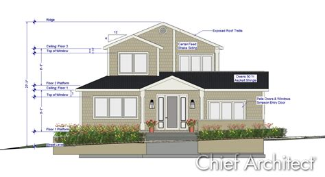 home design software free download chief architect 2012 international builder show custom home design by chief architect fine homebuilding