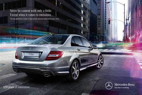 mercedes ads 2016 mercedes benz launches new ad caign for 2012 c class