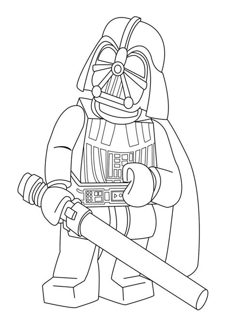 lego wars coloring pages darth vader lego wars coloring pages tucker s birthday episode