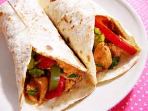chicken fajita wraps recipes food fox recipes