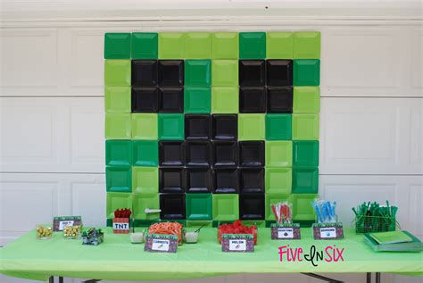 printable minecraft birthday party decorations minecraft party decoration ideas and downloadable