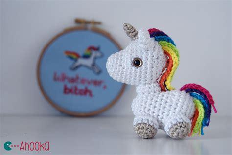pattern crochet unicorn tiny unicorn crochet amigurumi free pattern by