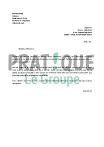 Modele De Lettre Resiliation Protection Juridique Lettre Type Resiliation Assurance Habitation Sogessur Document