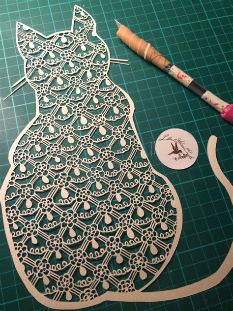 Paper Cutting Craft - multivitamin paper cutting henna by