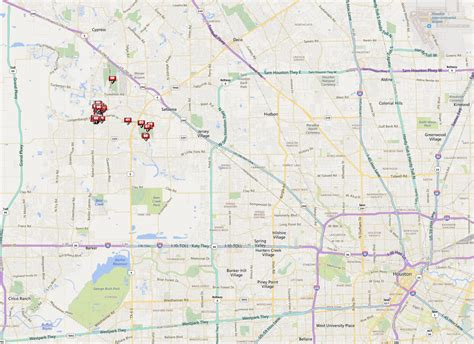 map of houston tx area copperfield tx homes real estate neighborhood guide