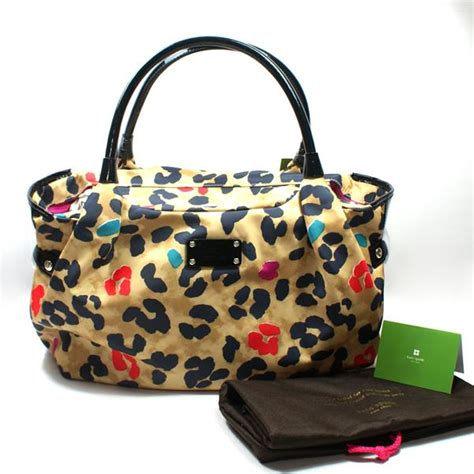 Kate Spade Stevie Animal Print Shoulder Bag by Kate Spade Stevie Pop Leopard Satchel Shoulder Bag