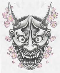 simple hannya mask tattoo 202 best images about hannya on pinterest