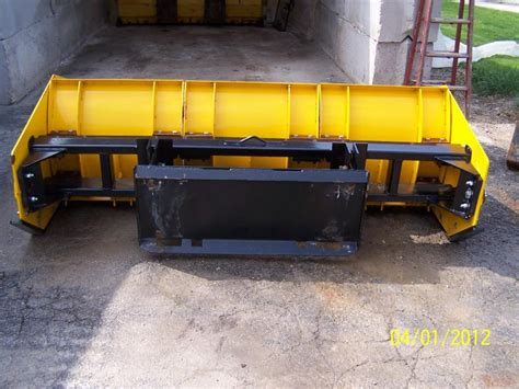 Sectional Snow Plow arctic sectional snow plow pusher lawnsite