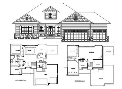 rambler floor plans with basement rambler floor plans rambler floor plans psion homes 17