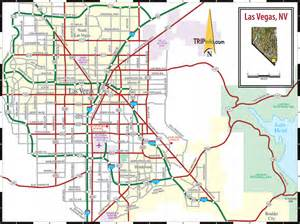 Map Las Vegas Nv by Las Vegas Nv Map