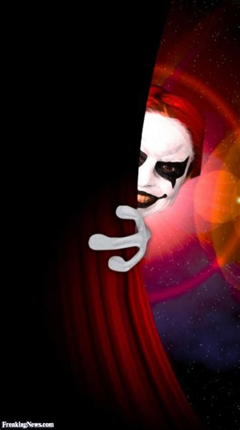 Participate In Contest Clown Behind The Curtain Pictures Freaking News