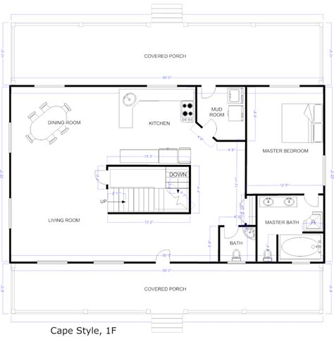 how to draw house plans free create your own floor plan