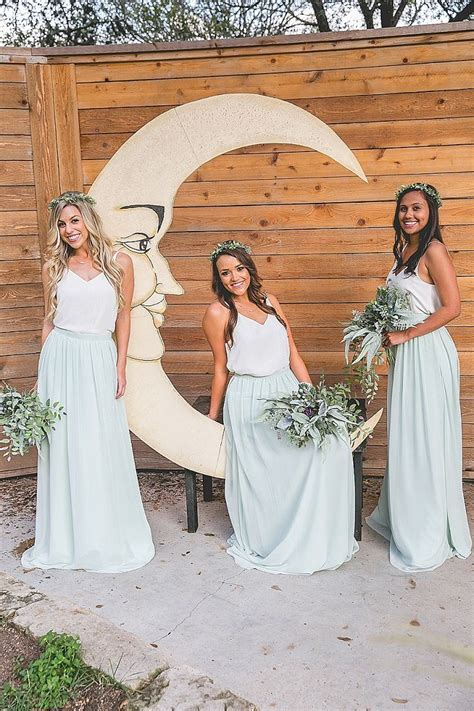 Backyard Wedding Bridesmaid Dresses Best 20 Bohemian Bridesmaid Dresses Ideas On