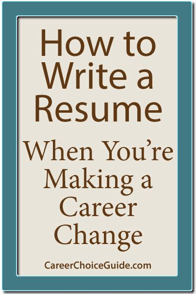 Changing Careers Resume Samples by Newest Articles On Career Choice Guide