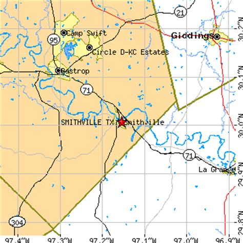smithville texas map smithville texas tx population data races housing economy