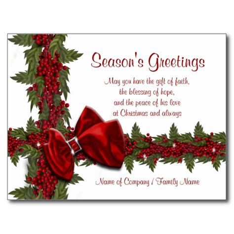 holiday card wording business christmas card sayings for