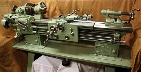 Norton Gearbox Powering A Vintage 1917 Lathe Norton