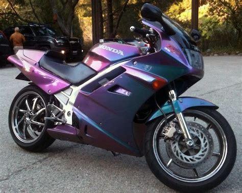 honda sport bike with chameleon paint two wheels honda chameleons and paint