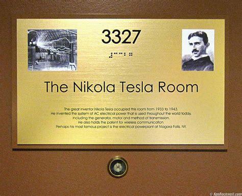New Yorker Hotel Tesla Room Adorama 19 August 2009