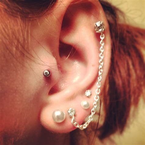 tattoo on back of ear cartilage cartilage piercing tattoos and piercings pinterest