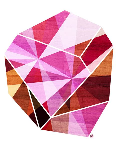 Geometric Gems by Rocks And Gems The Pairabirds
