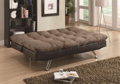 Browns Beds And Futons by Coaster Sofa Beds And Futons Brown Microfiber Brown Vinyl Sofa Bed Dunk