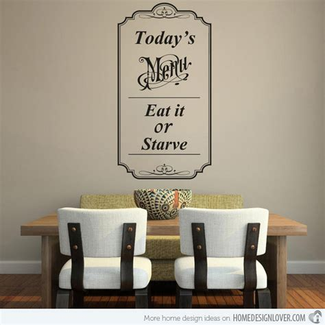 dining room wall decals 15 awesome dining room wall decals