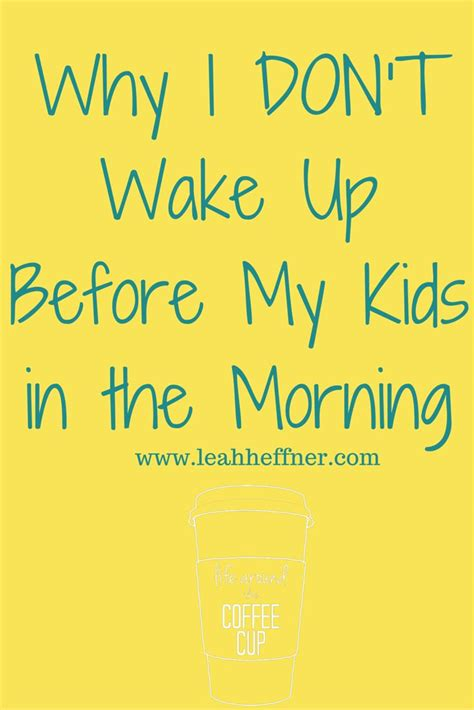 libro before i wake up why i don t wake up before my kids in the morning parents and child behavior