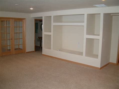 basement entertainment center bline remodeling