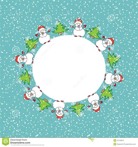 snowman card template snowman card template stock illustration image