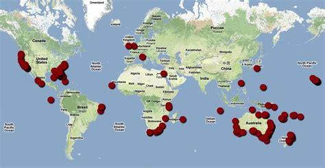shark attack map california shark culture