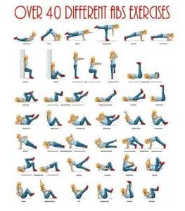 40 different abs exercises workouts how to lose
