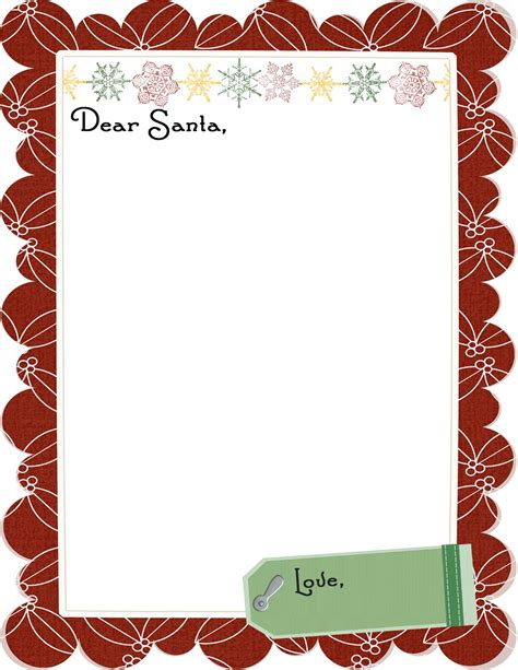 christmas borders word documents
