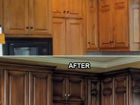 How To Prepare Kitchen Cabinets For Painting Before And After Painted Kitchen Cabinets Decor Trends