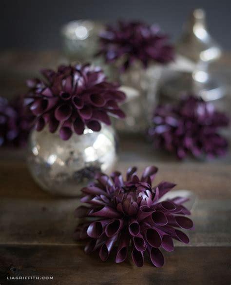 paper dahlia flower tutorial diy paper dahlia by lia griffith project papercraft