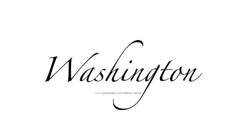 wäschesammler design washington usa state name designs tattoos with names