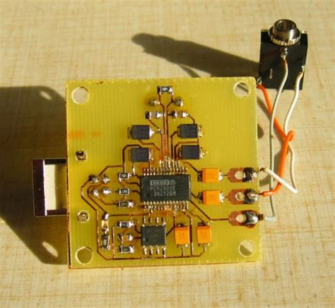 Bluebird Mini Usb Dac With Burr Brown Pcm2706 circuit zone electronic projects electronic