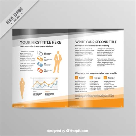 design graphics magazine free download infographic business magazine vector free download