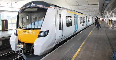 themes link train times thameslink future of commuting with new train for surrey