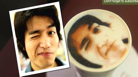 Move Latt Artists The Amazing Latt Printer Has Arrived by The Coffee Selfie Is Latte Licious Abc News