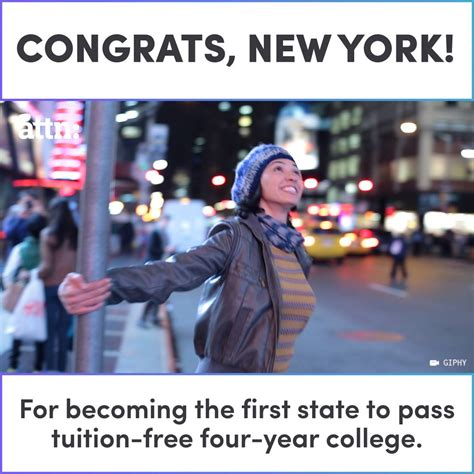 new york free tuition congrats new york for becoming the first state to offer