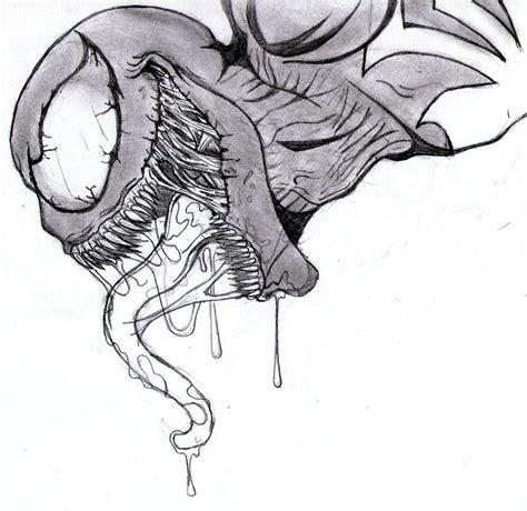 Drawing Venom by Venom Drawings Venom 2 By Xenomorph01 Stress