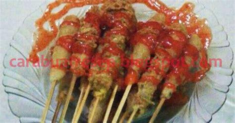 membuat sempol ayam khas malang resep masakan indonesia