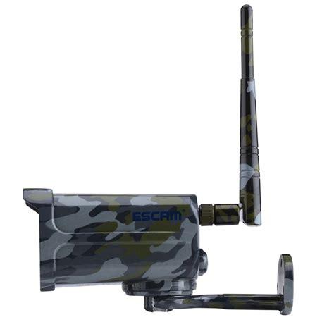 Ip Wifi Cctv Escam Qd900s Bullet 1 2 5 Inch 1080p Vision escam sentry qd900s 1080p ip wifi camouflage waterproof