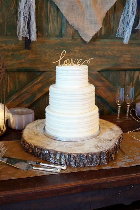Wedding Cakes Rustic by Simple Rustic Wedding Cake The Baking